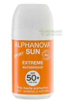 ALPHANOVA - Alphanova Cilt için Sun Sport Waterproof Roll-on - SPF 50 Faktör