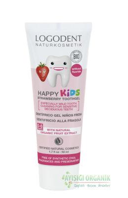 LOGODENT Çocuklar İçin Çilek Özlü Diş Macunu