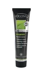 Logona - Logona Organik Erkek Traş Kremi (Ginkgo ve Kafein) 75ml