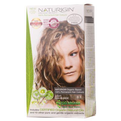 Naturigin - Naturigin Organik Saç Boyası Açık Kül Sarısı 8.1