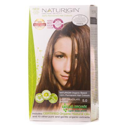 Naturigin Organik Saç Boyası Kahverengi 5.0