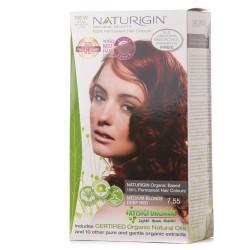 Naturigin - Naturigin Organik Saç Boyası Alev Kızılı 7.55