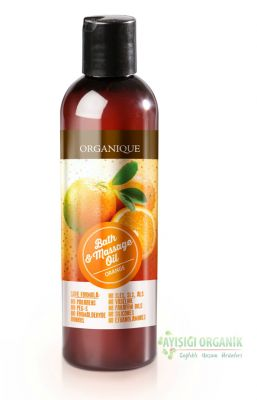 Organique Banyo & Masaj Yağı Portakal - 250 ml