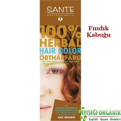 Sante - SANTE Organik Bitkisel Toz Saç Boyası (Fındık Kabuğu) 100gr