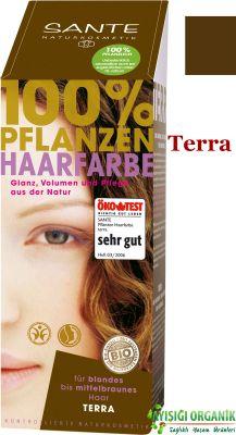 SANTE Organik Bitkisel Toz Saç Boyası (Terra) 100gr