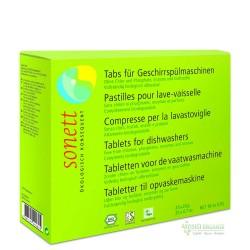 Sonett - Sonett Organik Bulaşık Makinesi Tableti 25 adet (x20gr)