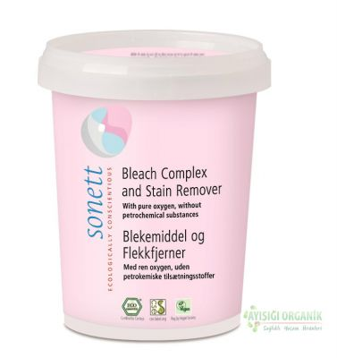 Sonett - Sonett Organik Beyazlatıcı Leke Çıkarıcı Toz 450gr