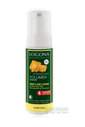 Logona - Logona Hacim Veren Şekillendirici Köpük Organik Bal ve Bira 150ML