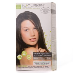Naturigin - Naturigin Organik Saç Boyası Ebony Siyah 2.3