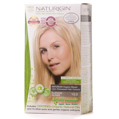 Naturigin Organik Saç Boyası Platin Sarı 10.0