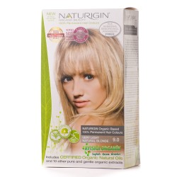 Naturigin - Naturigin Organik Saç Boyası Yumuşak Sarı 9.0