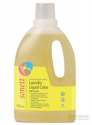 Sonett - Sonett Organik Çamaşır Yıkama Sıvısı (Renkliler) 1,5L