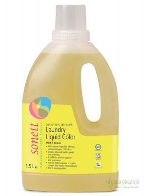 Sonett Organik Çamaşır Yıkama Sıvısı (Renkliler) 1,5L